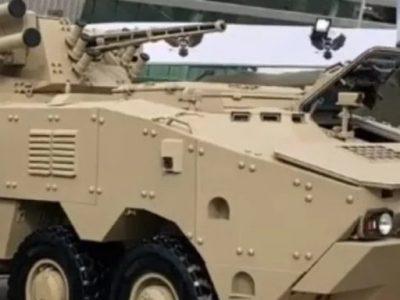 На виставці IDEX 2021 українська оборонна промисловість продемонструє вдосконалений бронетранспортер БТР-4МВ1