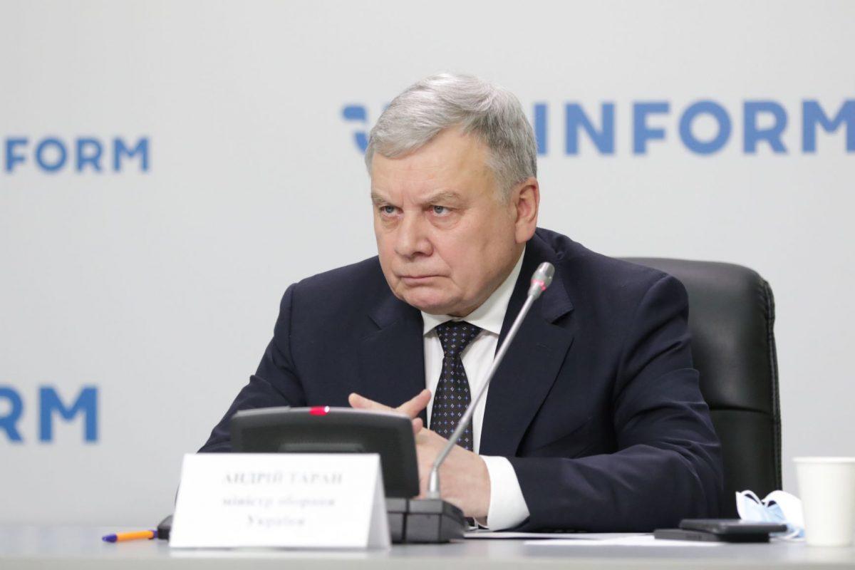 Розмежування повноваження між Міністром оборони та Головнокомандувачем прописано в Законі — Андрій Таран