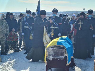 На Харківщині попрощалися із загиблим десантником Дмитром Мироненком