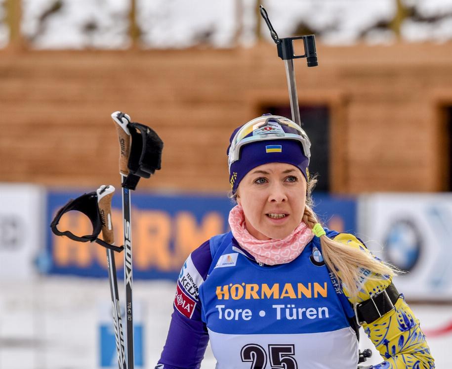 Армійка Юлія Джіма у складі збірної України з біатлону виграла бронзову медаль чемпіонату світу у Словенії