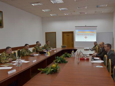 Шведські та українські військові обмінялися досвідом протимінної діяльності