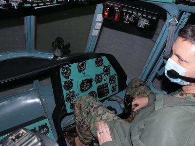 Військові аташе США ознайомилися з підготовкою курсантів-авіаторів