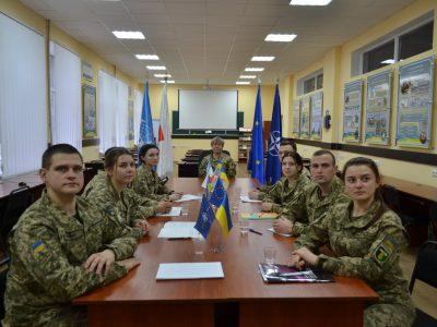 Команди військових вишів вибороли призові місця у Всеукраїнському гендерному квесті