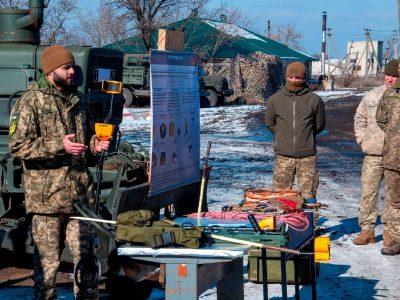 Військовослужбовці Сил підтримки пройшли підготовку з мінної безпеки