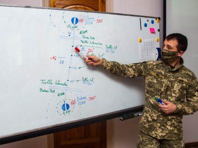 У Національному університеті оборони триває підготовка бортових перекладачів