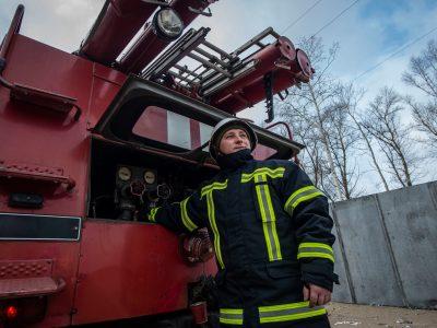 Військовослужбовці «Холодного Яру» провели тренування з пожежогасіння
