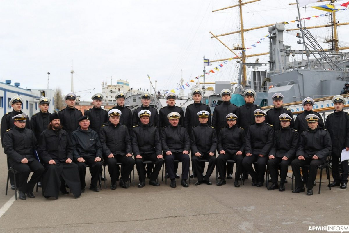 В Одесі відбувся випуск старшин національного флоту