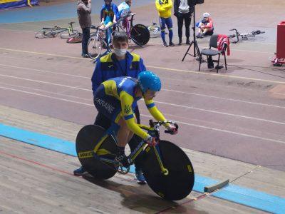 У Львові проходить Весняний чемпіонат України з велосипедного спорту на треку