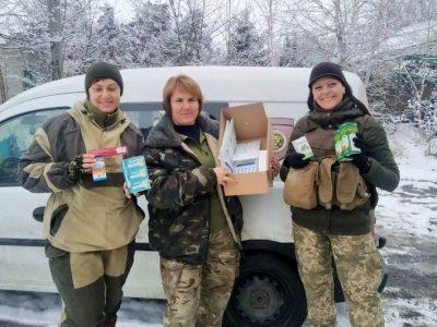 Бердичівські волонтери доправили на передову чергову партію медичних засобів та оптики
