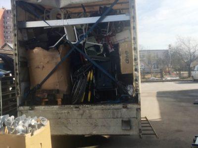 Латвія відправила в Україну гумвантаж для людей з особливими потребами
