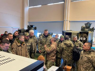 Мер Києва із заступниками голови КМДА та главами столичних районів взяв участь у навчаннях з організації територіальної оборони