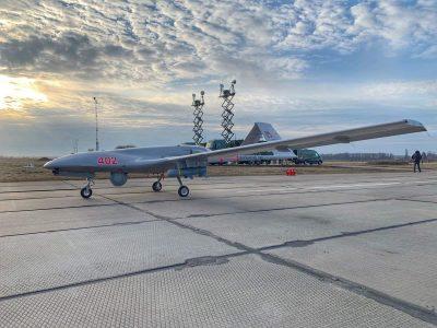 Українські Bayraktar TB2 виконували завдання над Тендрівською косою