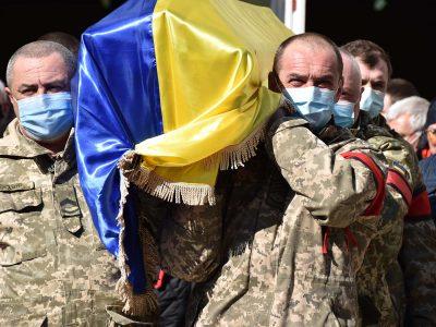 У Кам'янці-Подільському попрощалися із загиблим підполковником Ковалем