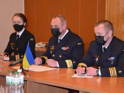В Одесі відбулася зустріч керівництва ВМС України з представниками Постійної морської протимінної групи НАТО №2