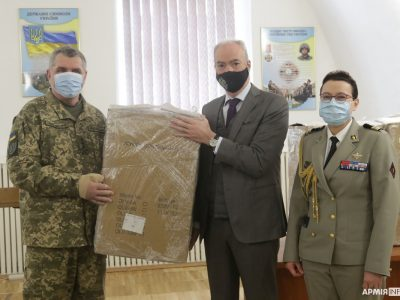 Французьке Посольство передало Командуванню Медичних сил три кисневі концентратори