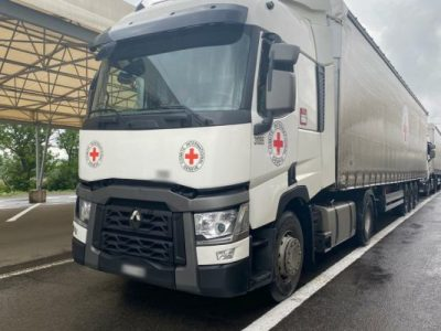 Понад 100 тонн гумвантажу доставили на тимчасово окуповані території України
