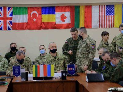 На Львівщині розпочалось планування багатонаціонального військового навчання «Три мечі — 2021»