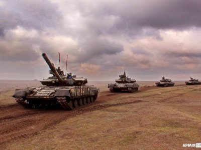 Злагодження піхотинців відбувається з використанням сучасної системи імітації бою «Лазертаг»