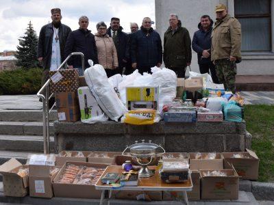 Святковий вантаж на Схід України відправили ветерани та волонтери Полтавщини