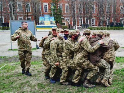 Офіцери тероборони Кіровоградщини взяли участь у заняттях з психологічної та гірської підготовки