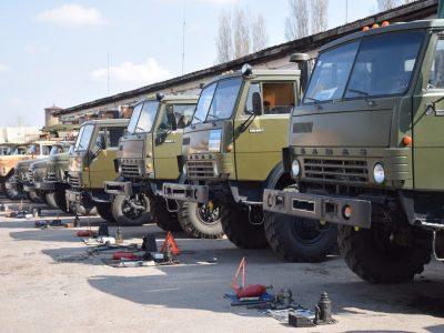 Автомобільна техніка полтавських зв'язківців технічний контроль пройшла успішно