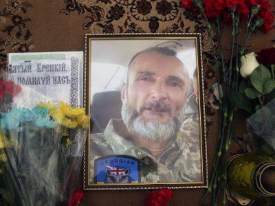 У Києві попрощалися з полеглим у районі ООС старшим солдатом Давидом Шартавою