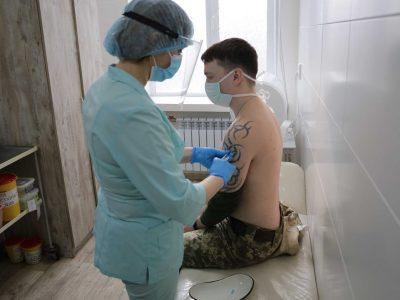 Особовий склад Одеської військової академії долучився до вакцинації