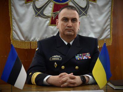 Командувачі ВМС України та Естонії в режимі онлайн обговорили нагальні питання безпеки