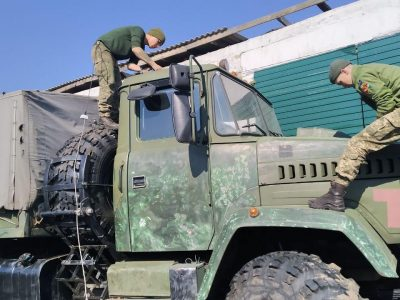 До участі в міжнародних навчаннях Dynamic Front готуються не лише військовослужбовці, а й техніка
