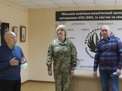 У Вінниці відкрилася виставка офіцерки-художниці