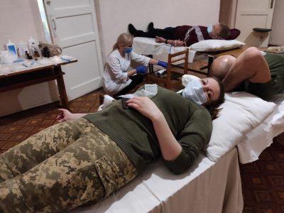 130 бердичівських гармашів взяли участь у донорській акції