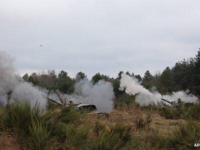Курсанти-артилеристи виконали вогневі завдання з САУ «Гвоздика»