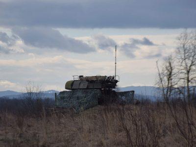 На Львівщині зенітний ракетний дивізіон відпрацював тактичні прийоми ведення протиповітряного бою