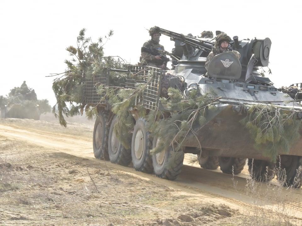 Авіація та підрозділ ДШВ протидіяли ворожому десанту