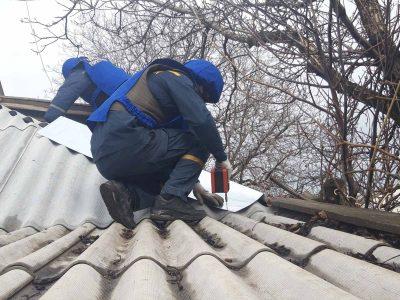 В районі ООС підрозділи ДСНС України ведуть відновлювальні роботи цивільної інфраструктури