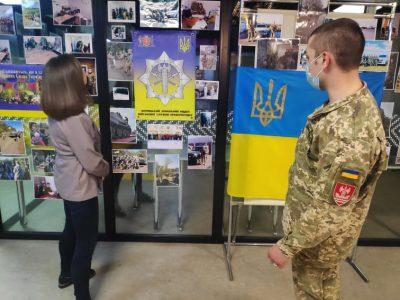 У Вінниці відкрили фотовиставку, присвячену діяльності Військової служби правопорядку