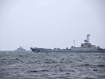 Українські ВМС провели спільні українсько-румунські тренування типу PASSEX у акваторії Чорного моря