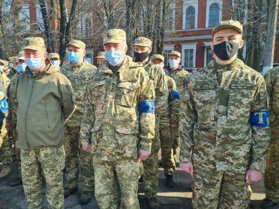 Резервісти Кіровоградщини вдосконалюють свої військові навики