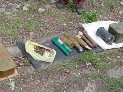 На Луганщині виявили великий схрон з боєприпасами