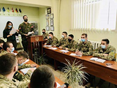 Майбутні офіцери інженерних військ опановують стандартні процедури НАТО