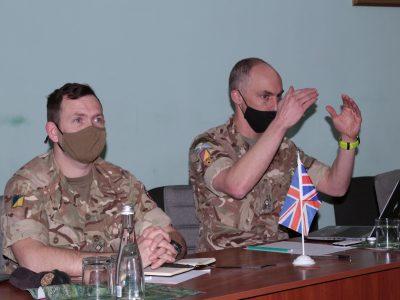 Британці навчатимуть військових із Харкова логістичного забезпечення за стандартами НАТО