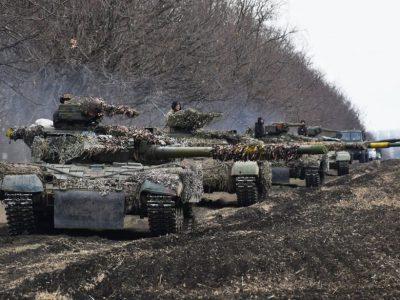 Наступальний бій та маскування відпрацював танковий підрозділ у районі ООС