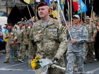 З початку проведення АТО/ООС понад 238 тис. військовослужбовців та працівників ЗС України нагороджено державними нагородами