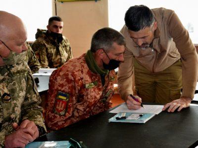 У Дрогобичі з військовими провели психосоціальні майстер-класи
