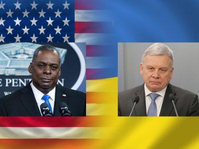 «Сполучені Штати не залишать Україну наодинці у разі ескалації російської агресії»: про що говорили міністри оборони України та США