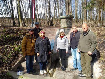 У витоків річки Рось на Вінниччині заклали парк Козацької слави імені Максима Кривоноса