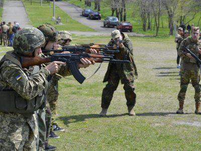 На миколаївських резервістів чекають виїзди на полігони, марш-кидки, бойові та тактичні заняття