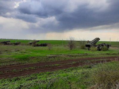 Реактивна артилерія ВМС ЗС України провела тренування з управління вогнем