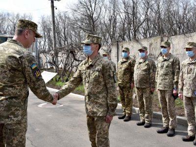 В ООС воїнів Військової служби правопорядку привітали з професійним святом