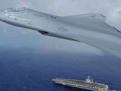 ВМС США розкривають плани щодо створення нового палубного винищувача